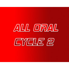All Oral Steroid Cycle 2