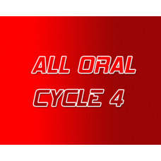 All Oral Steroid Cycle 4
