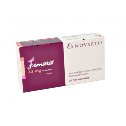 Femara Letrozole 2.5 mg 30 Tablets Novartis