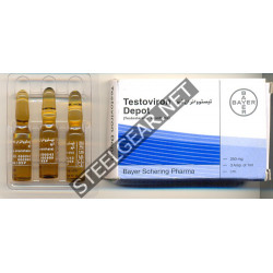 Testoviron Depot (Testosterone Enanthate) 1 ml 250 mg Bayer