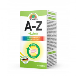 A-Z + LUTEIN 60 Tablets Sunlife