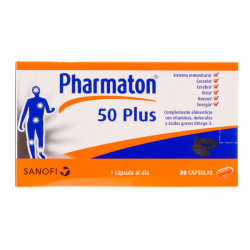 Pharmaton 50 Plus 30 Caps. Boehringer Ing.